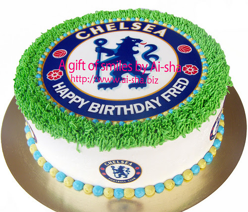 Birthday Cake Edible Image Chelsea