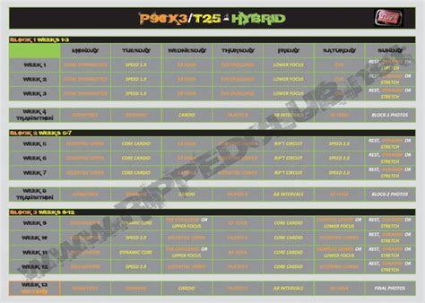 px  hybrid schedule workout calendar rippedclub