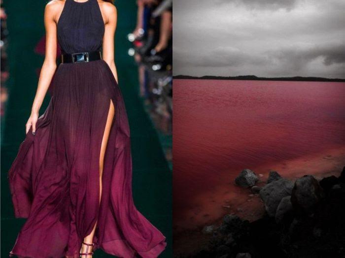 Оригинальное платье Озеро в проекте Fashion & Nature.