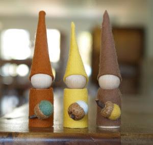 Easy Autumn Gnomes
