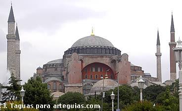 Santa Sofía. Gloria de la cultura y arte de Bizancio