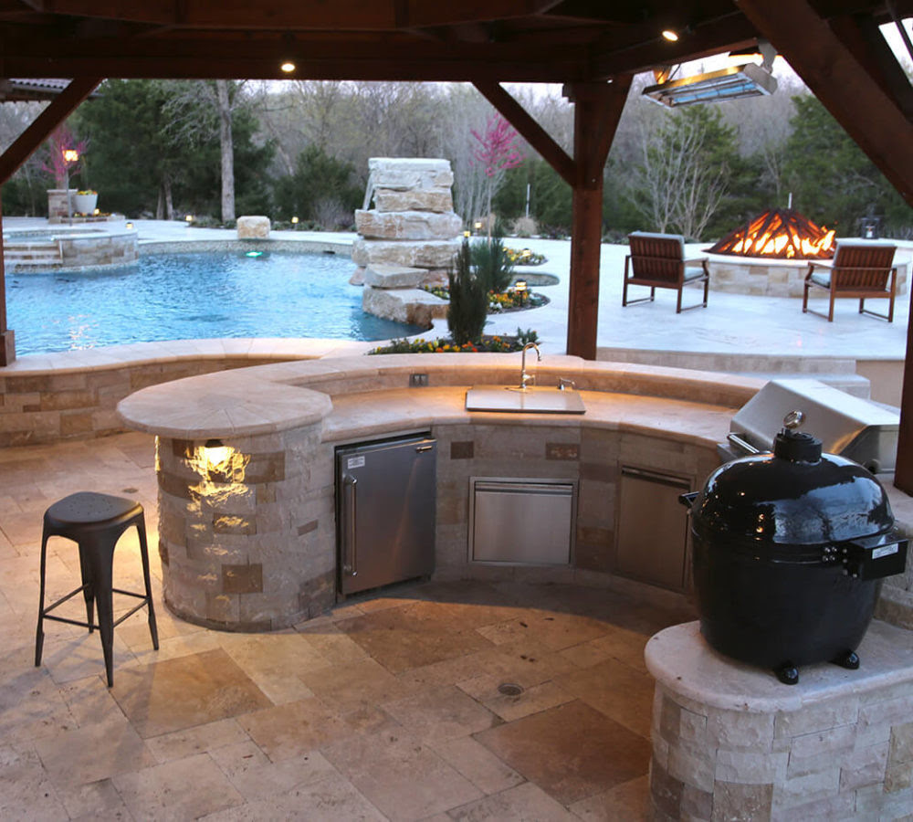 Outdoor Kitchen Frisco TX | Prestige Pool and Patio