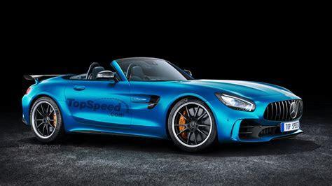 2019 Mercedes AMG GT R Roadster   Top Speed