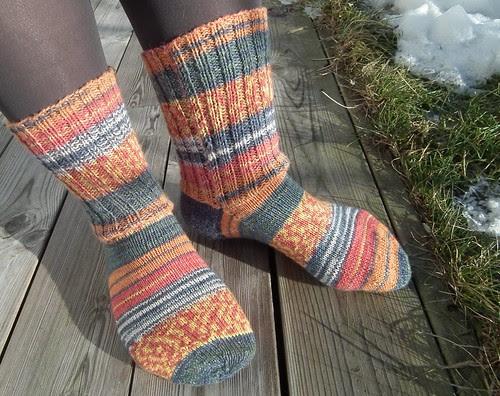 Helt enkle sokker