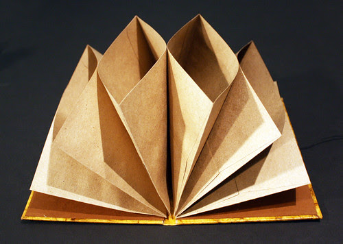 Kraft envelope book