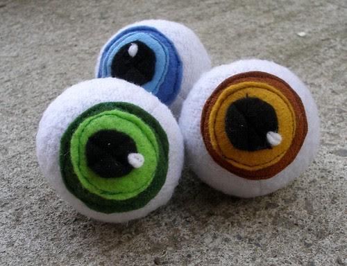 catnip eyeballs!