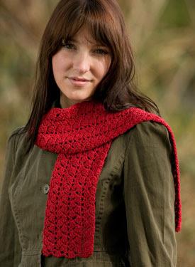 Ziggy Crochet Scarf Pattern - A Free Crochet Scarf Pattern