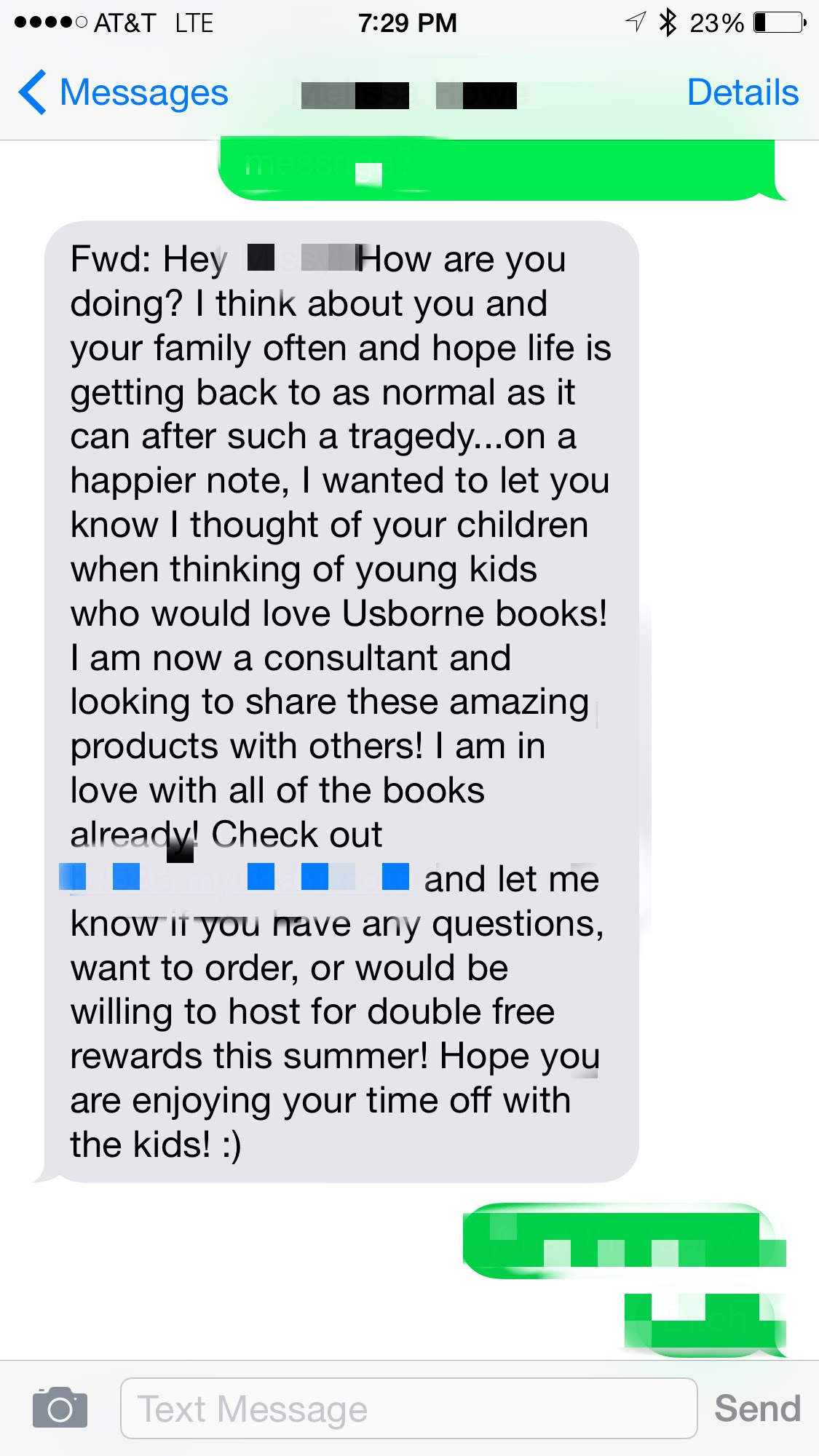My Father Unexpectedly Died Recently And My Sister Got A Message