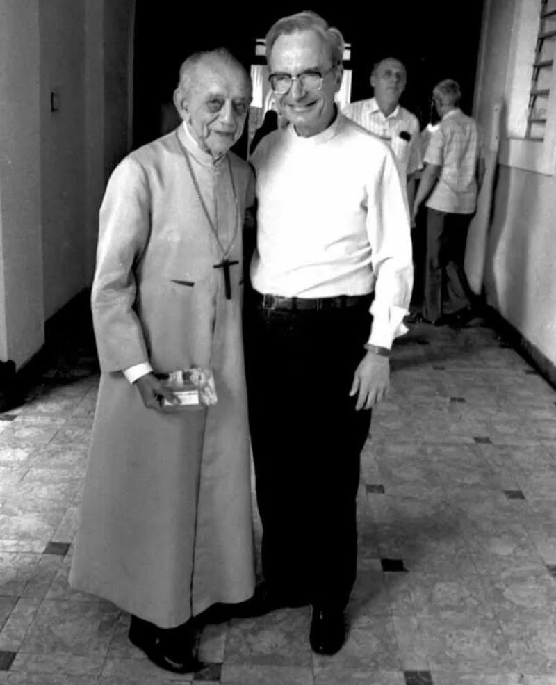 D. Helder Camara e D. Luciano Mendes de Almeida