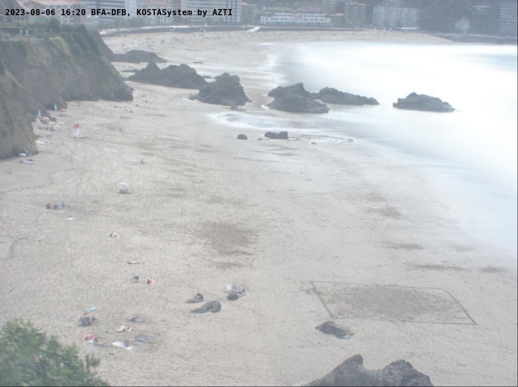 Webcam de la playa de Bakio