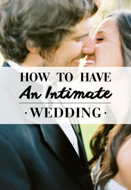Best 25  Intimate wedding ceremony ideas on Pinterest