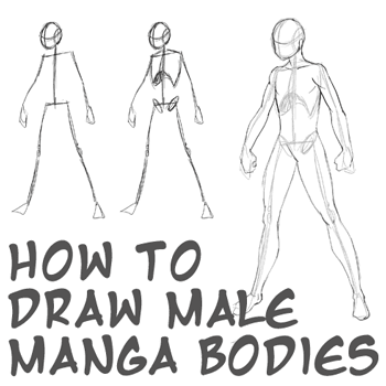8 EASY TUTORIAL HOW TO DRAW ANIME MALE BODY PDF