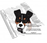 Ratonero Bodeguero Andaulz Dog Intarsia - Yard Art Woodworking Pattern - fee plans from WoodworkersWorkshop® Online Store - Ratonero Bodeguero Andaulz Dogs,pets,animals,dogs,breeds,instarsia,yard art,painting wood crafts,scrollsawing patterns,drawings,plywood,plywoodworking plans,woodworkers projects,workshop blueprints