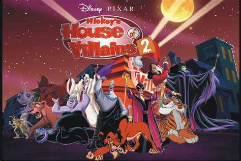 disney pixars mickeys house  villains  fan fiction