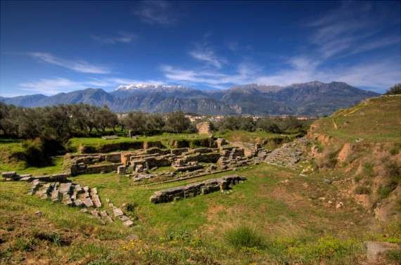 Το αρχαίο θέατρο της Σπάρτης