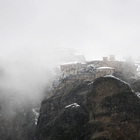 Monastery of Varlaam by George Koultouridis (seven-hundredth) on 500px.com