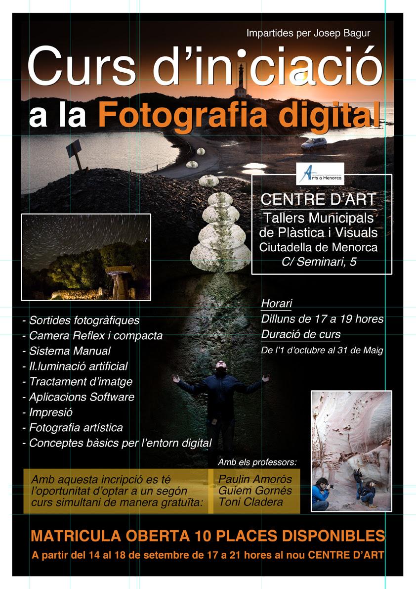 Curs d'iniciació a la Fotografia Digital