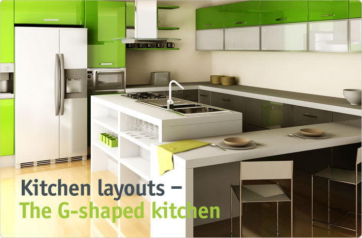 clever-storage | The G-shaped kitchen