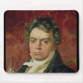 Portrait of Ludwig Van Beethoven mousepad