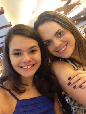 Isabela e Andreza emagrecerem (Foto: Isabela Vilar/Arquivo Pessoal)