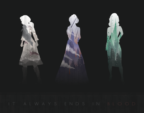 It Always ends in Blood by NCCreations