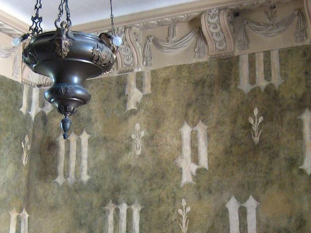 2011-10-15-Chateau-de-Germolles-Ducal-Chamber-letter-detail