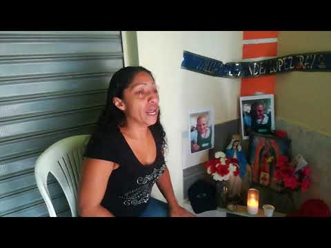 Mataron a su esposo, teme por su vida