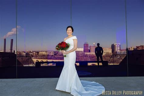 Guthrie Theater Wedding in Winter   Megan and Reed