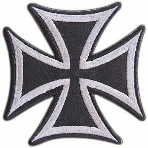 Gray German Iron Cross military medal WW2 War Biker Tattoo ...