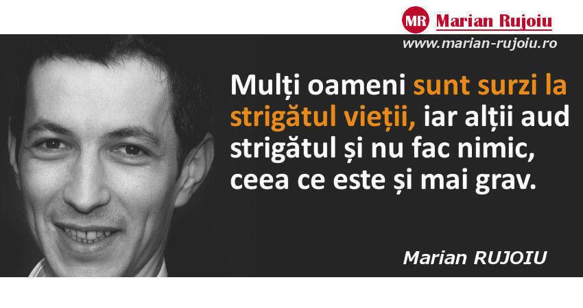 Citate despre viata - Marian Rujoiu