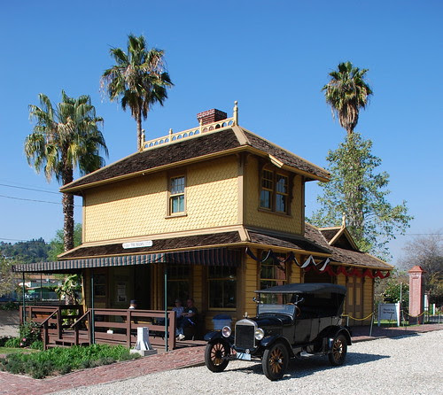 Palms-Southern Pacific Railroad Depot