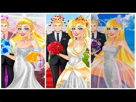 #Disney Games Now and Then Barbie Wedding Day   Barbie