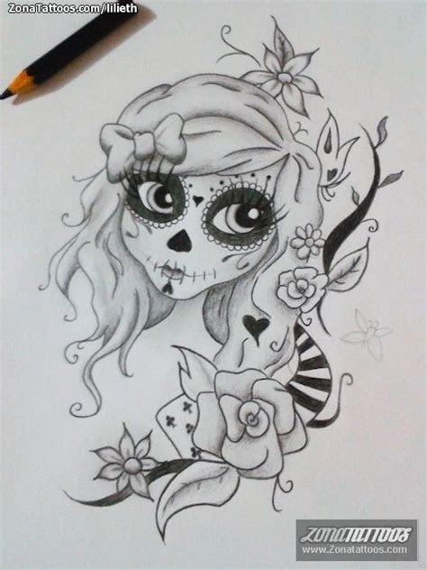 Catrinas Caricatura Tattoos