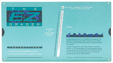 Daily Planner Calendars - 205350 - E-Z Grader Test Quiz and ...