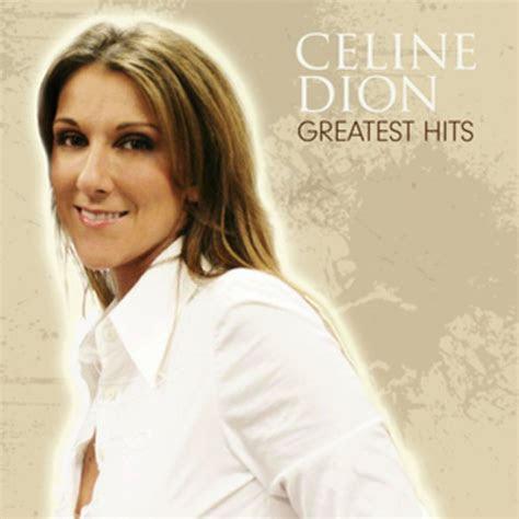 celine dion greatest hits disc  artwork