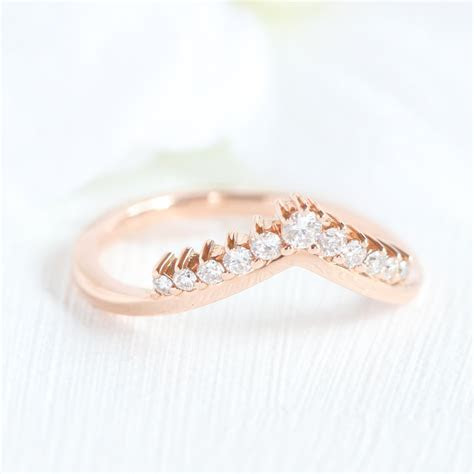 Tiara Halo Bridal Set w/ Pear Rose Cut Black Diamond and V