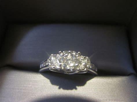 zales engagement ring   Weddingbee Photo Gallery