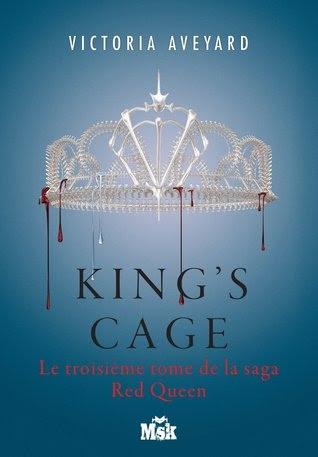 Couverture Red queen, tome 3 : King's Cage