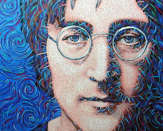 'John', acrílico sobre tela by J. Morefield