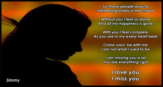 I Miss You I Love You Free Missing Him Ecards Greeting Cards