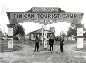 Tin Can Tourists camp: Gainesville, Florida (192-)