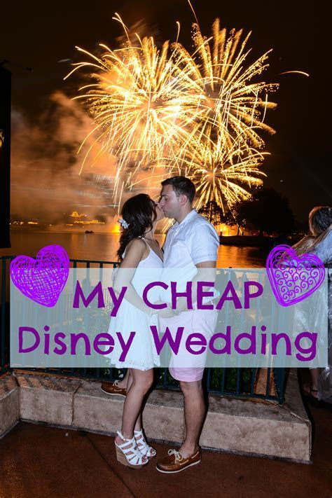 You CAN have a CHEAP Disney Wedding ? Step Two: Reception