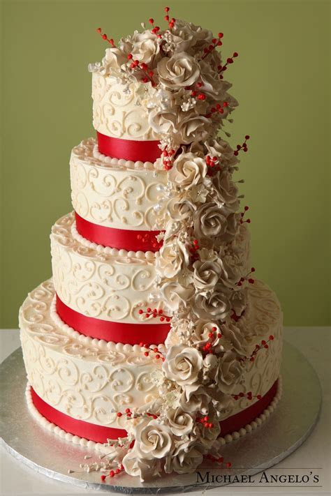 Scarlet & Ivory #19Floral   Scarlet, An and Cakes