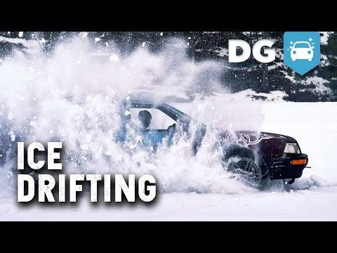 Ice Drifting The Quad Turbo Ls Audi Quattro