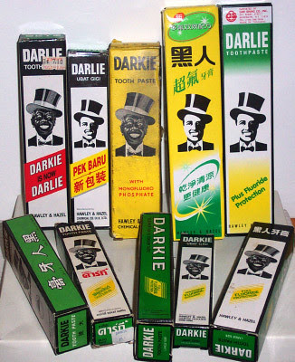 Darkie Toothpaste Over the Years by sinosplice on flickr
