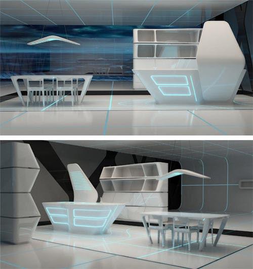 Tron interior modern interior design 2