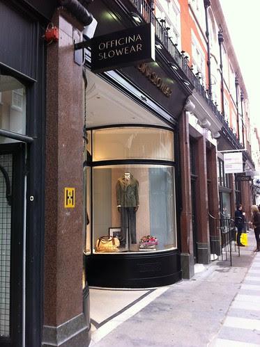 Officina Slowear London shop