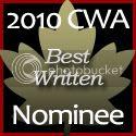 2010 Canadian Weblog Awards Nominee