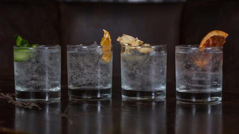 Gin menu Smokestack