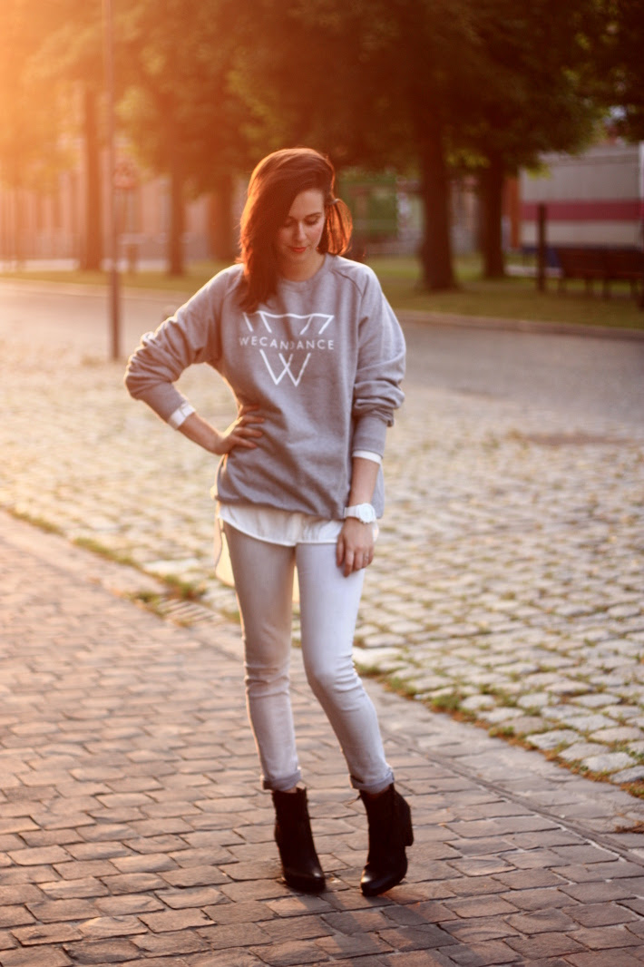 We Can Dance Sweater and Quizilo Boots